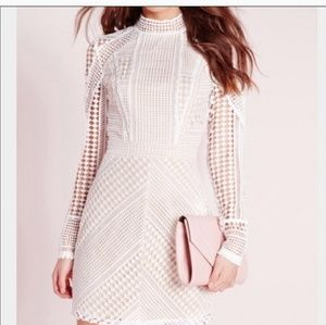 Missguided White Hot Drsss